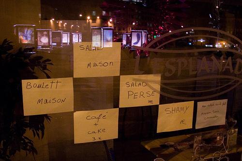 Fautes orthographe vitrine