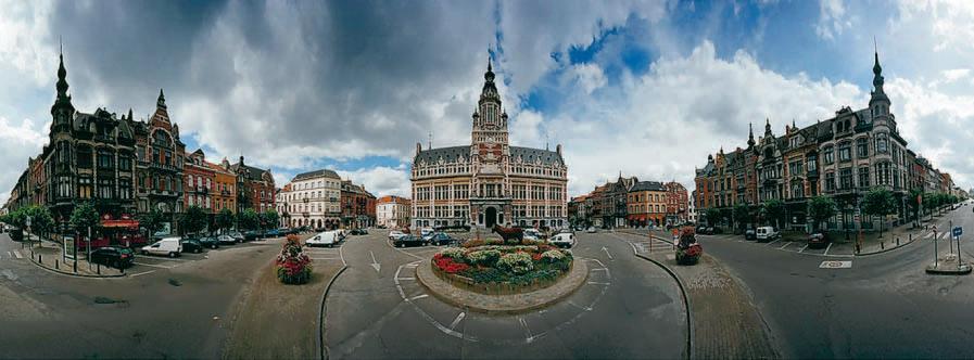 Place Colignon par Michel Dusarez