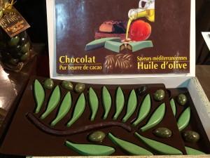 Chocolat à l'huile d'olive