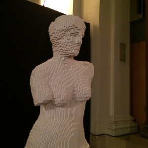 Venus de Milo en Legos