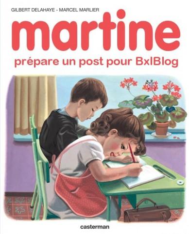 Bxlblog recrute avec Martine