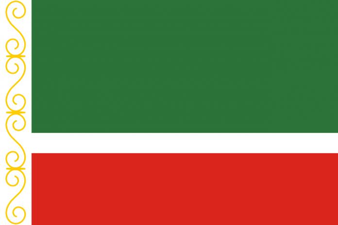 Drapeau de la Tchétchénie