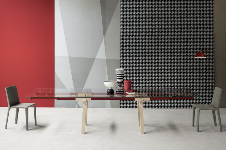 Tracks designed by Alain Gilles © Photo Bonaldo - Dialogue - Belgian design news