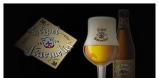 Triple Karmeliet bouteille verre logo